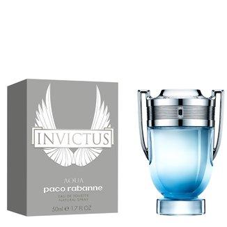 Perfume Masculino Invictus Aqua Paco Rabanne Eau de Toilette 50ml