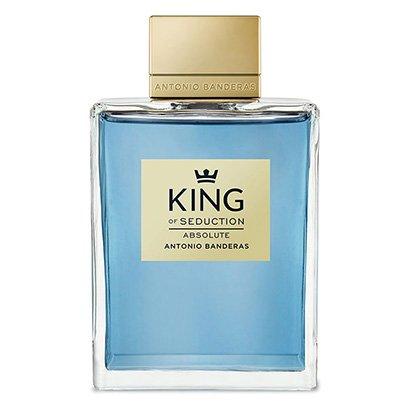 Perfume King of Seduction Masculino Antonio Banderas EDT 200ml - Masculino - Incolor