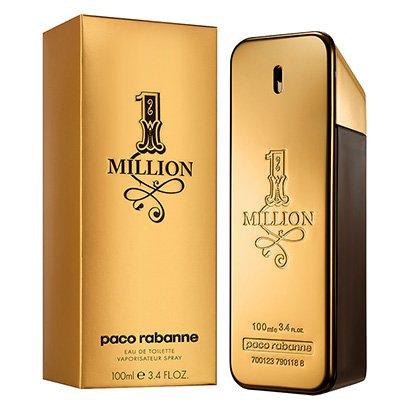 Perfume Masculino One Million Paco Rabanne Eau de Toilette 100ml