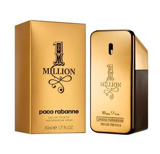 Perfume Masculino One Million Paco Rabanne Eau de Toilette 50ml