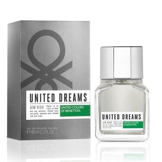 Perfume Masculino United Dreams Aim High Benetton Eau de Toilette 60ml