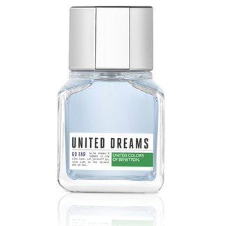 Perfume Masculino United Dreams Go Far Benetton Eau de Toilette 60ml