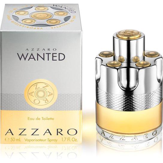 Perfume Masculino Wanted Azzaro Eau de Toilette 50ml - Incolor
