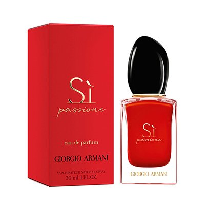 Perfume Sì Passione - Giorgio Armani - Eau de Parfum Giorgio Armani Feminino Eau de Parfum