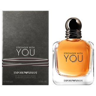 Perfume Stronger with You Masculino Giorgio Armani EDT 100ml