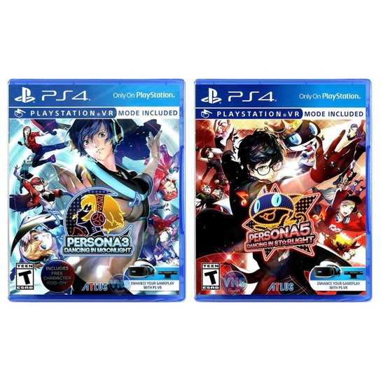 Persona 3 Dancing in Moonlight + Persona 5 Dancing In Starlight - PS4 - Incolor