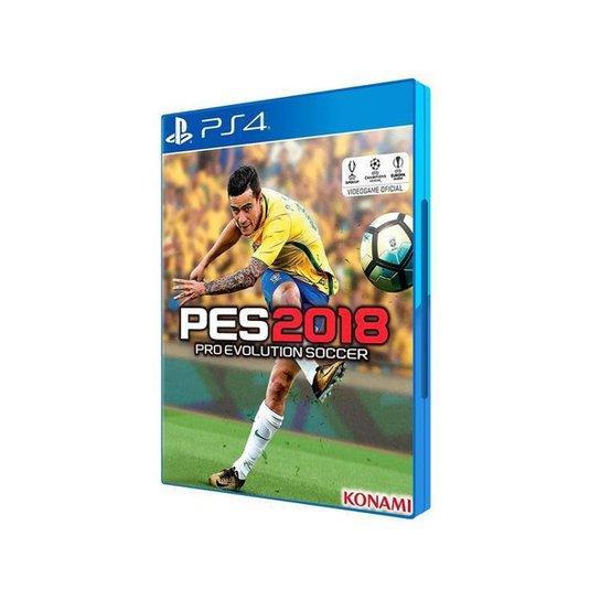PES 2018 para PS4 - Incolor
