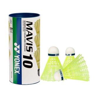 Peteca Yonex Mavis 10 Tubo com 03 Unidades