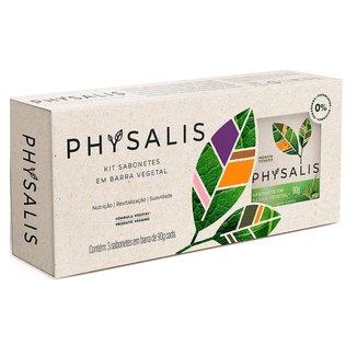 Physalis Puro Equilibrio Capim Santo e Aloe Vera Kit – 3 Sabonetes em Barra Kit