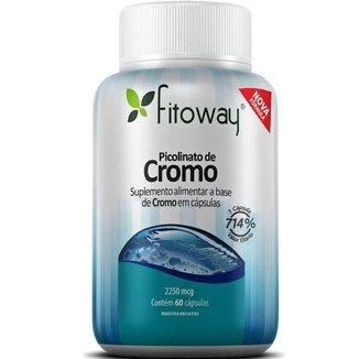 Picolinato Cromo - 60 Cápsulas -  Fitoway