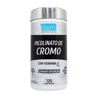 Picolinato de Cromo (120 Comprimidos) - Stem Pharmaceutical
