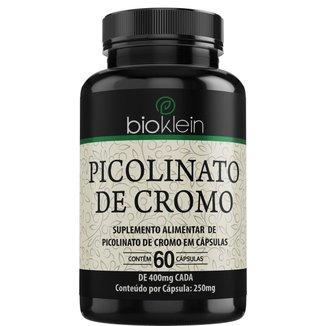 Picolinato De Cromo  60 Cápsulas  Bioklein