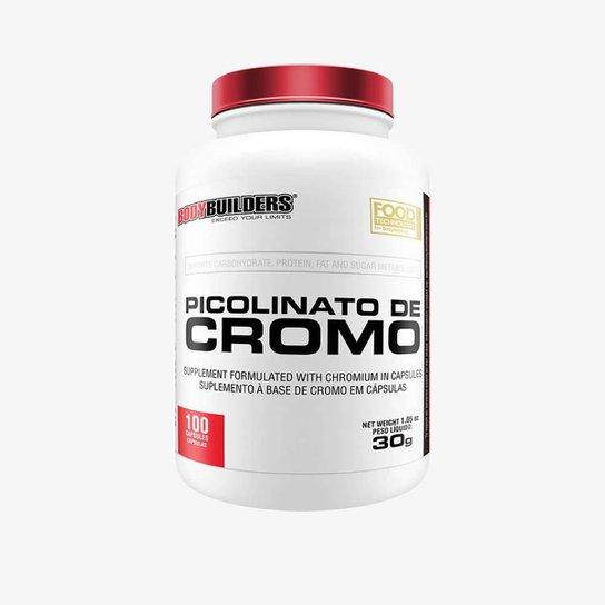 PICOLINATO DE CROMO - BODYBUILDERS 100 CAPS -