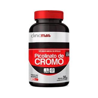 Picolinato de Cromo  Clinic Mais   60 Cápsulas