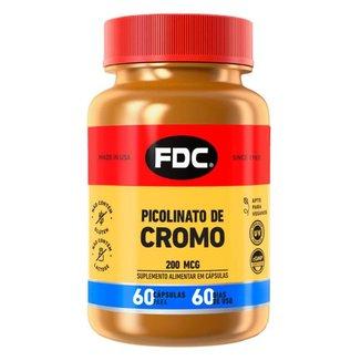Picolinato de Cromo FDC - Suplemento Alimentar 60 Caps