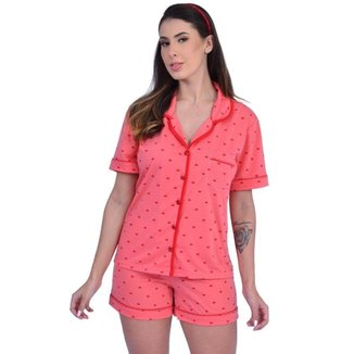 Pijama Babydoll de Calor Short Doll Curto