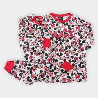 Pijama Bebê Evanilda Disney Longo