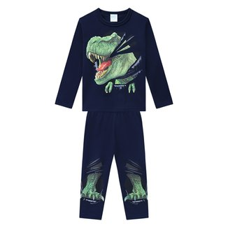 Pijama Bebê Kyly Brilha no Escuro Longo