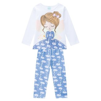 Pijama Bebê Kyly Brilha No Escuro