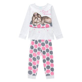 Pijama Bebê Kyly Good Dreams Brilha No Escuro Feminino