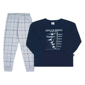 Pijama Bebê Longo Pulla Bulla Gigantes Masculino