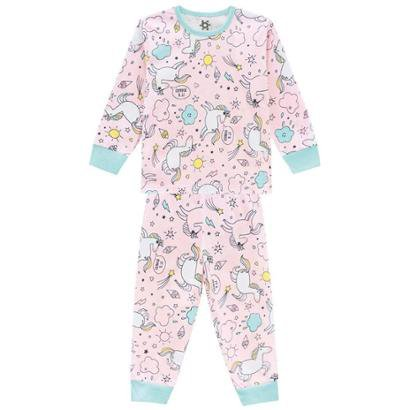 Pijama Brandili Infantil Em Malha Feminino