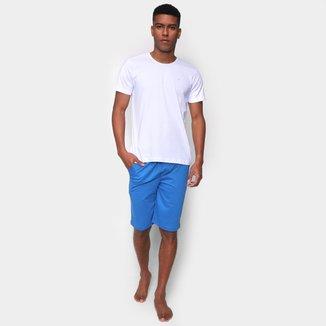 Pijama Curto Volare Básico Masculino