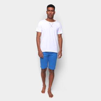 Pijama Curto Volare Liso Masculino