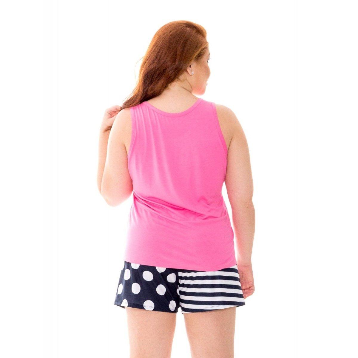 09535 Pijama Feminino Viscose Pijama Feminino Baunilha Recco Recco Baunilha Rosa PpP1O8v4