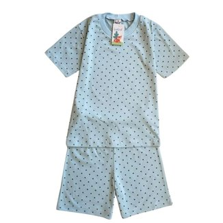 Pijama Infantil Babié Manga Curta Estrelinha Masculino