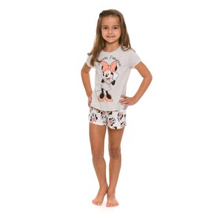 Pijama Infantil Evanilda Disney Minnie Feminino