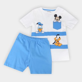 Pijama Infantil Evanilda Disney Turma do Mickey Masculino