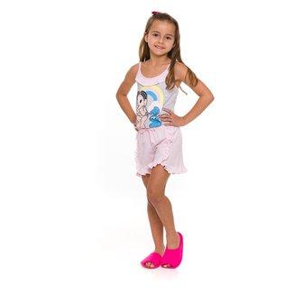 Pijama Infantil Evanilda Patins e Patinetes Feminino