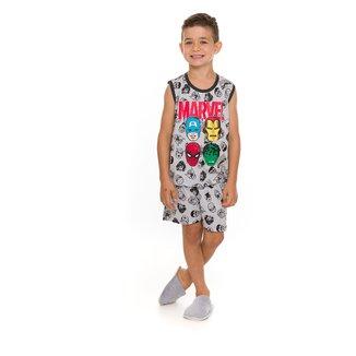 Pijama Infantil Evanilda Vingadores Masculino