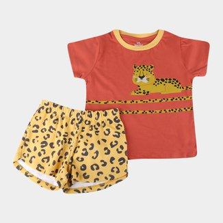 Pijama Infantil Hering Estampado Feminino