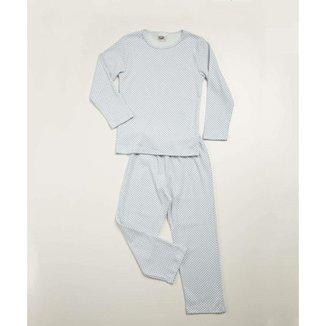 Pijama Infantil Manga Longa Estampado Costa Rica Tam 2 A 8 - 10047447141