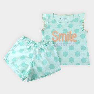 Pijama Infantil Shorts Doll adidas argentina sweater line drawing free Smile Feminino