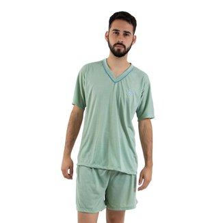 Pijama Linha Noite Curto 070 Masculina