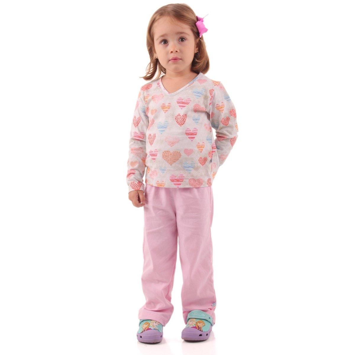 Repelente Pijama Longo Longo Rosa Com Com Pijama Repelente AAq1zH