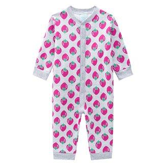 Pijama Macacão Bebê Kyly Moletom Peluciado