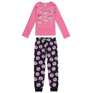 Pijama Malwee Infantil Feminino