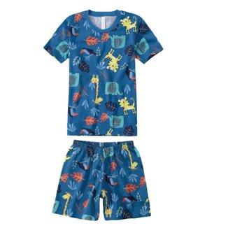 Pijama Malwee Liberta Masculino Infantil Zoo