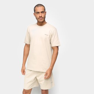 Pijama Masculino Pierre Cardin Camiseta Bermuda Confortável