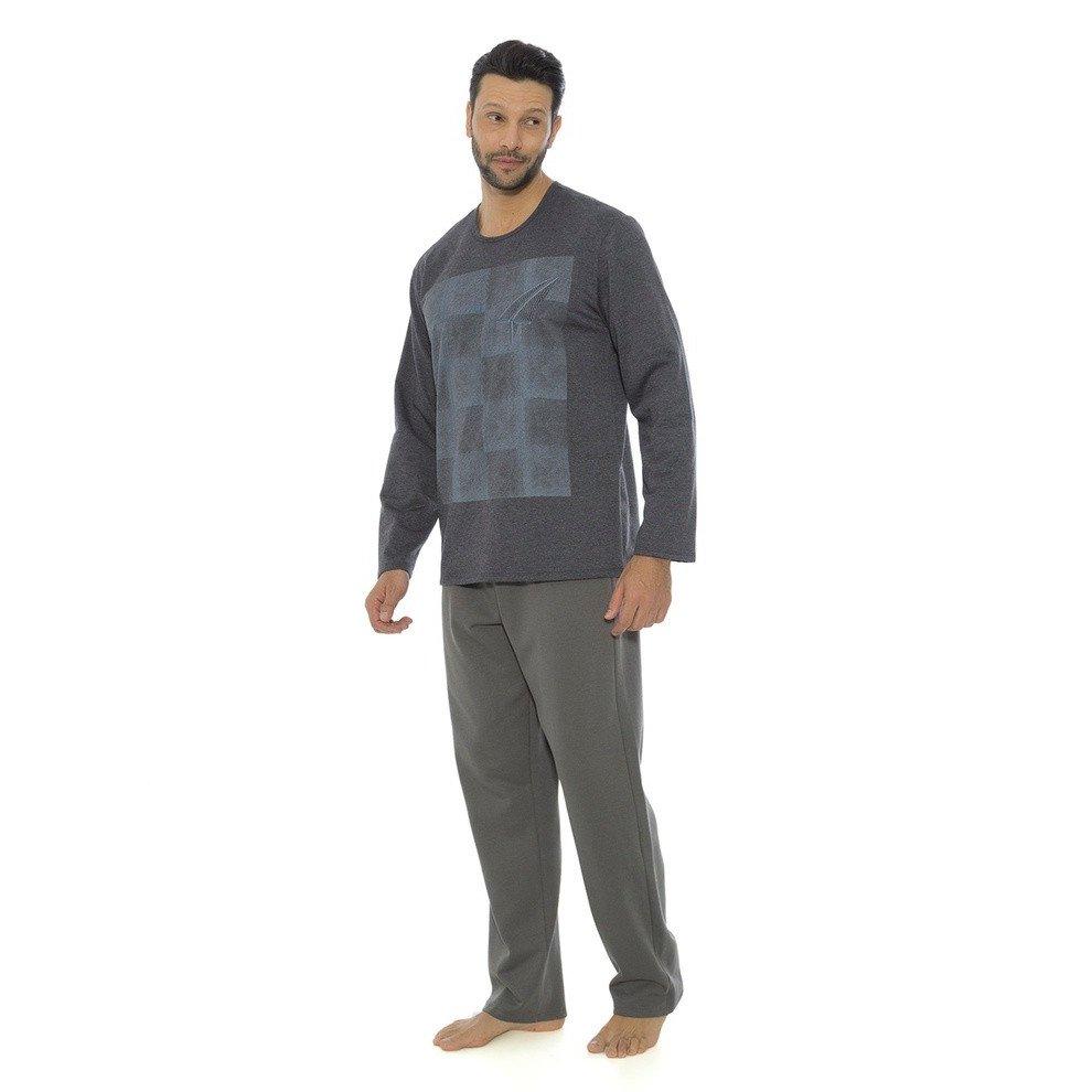 Pijama Masculino Recco Moletom 09086  Pijama Masculino Recco Moletom 09086  ... ffb3971497d7d