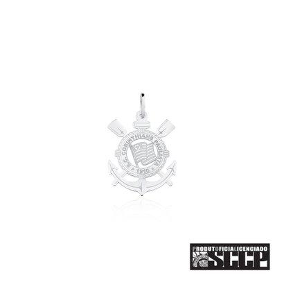 Na Joia em Casa você encontra o Pingente de Prata 925 com Escudo do Corinthians Extra Grande. O seu maior tamanho de Pin...