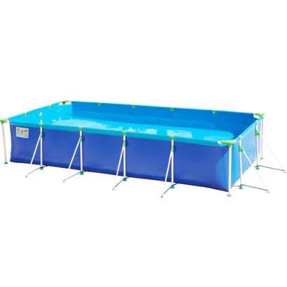 Piscina 10.000 Litros MOR 1027 Premium c / Vávula Deságue - Unissex - Azul