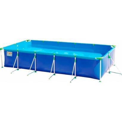 Piscina 7600 Litros MOR 1026 Premium c / Vávula Deságue - Unissex - Azul