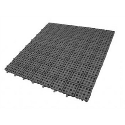 Piso Plástico Flexível 50 X 50Cm - Unissex