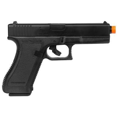 Pistola Airsoft KwC K17 com Trava de Segurança Full ABS - Unissex