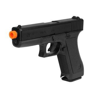 Pistola Airsoft Spring KWC Glock K7 + Esferas de Alumínio 6mm 200un.